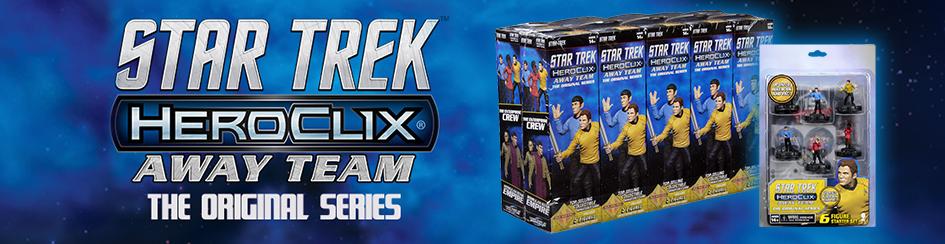 HeroClix - Star Trek Away Team: The Original Series
