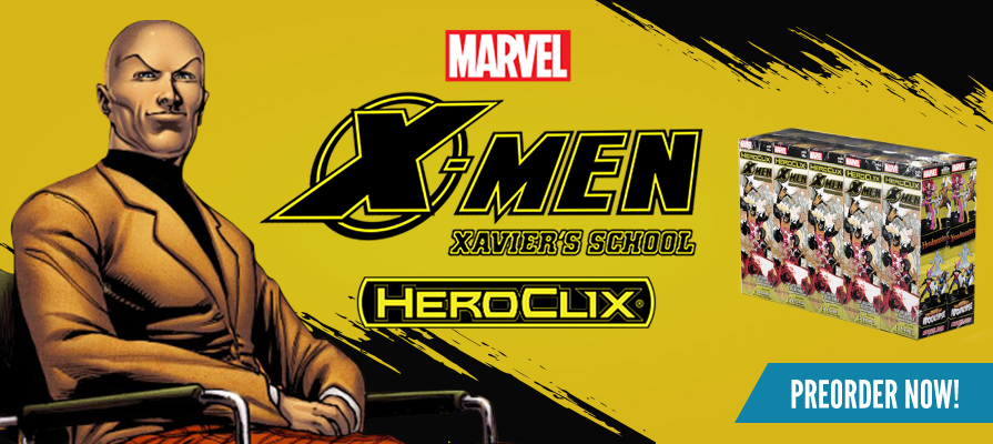 HeroClix - X-Men Xavier's School