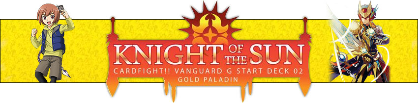 Gold Paladin - Knight of the Sun