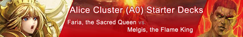 Alice Cluster Starter Decks