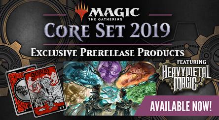 Core Set 2019 - Prerelease Items