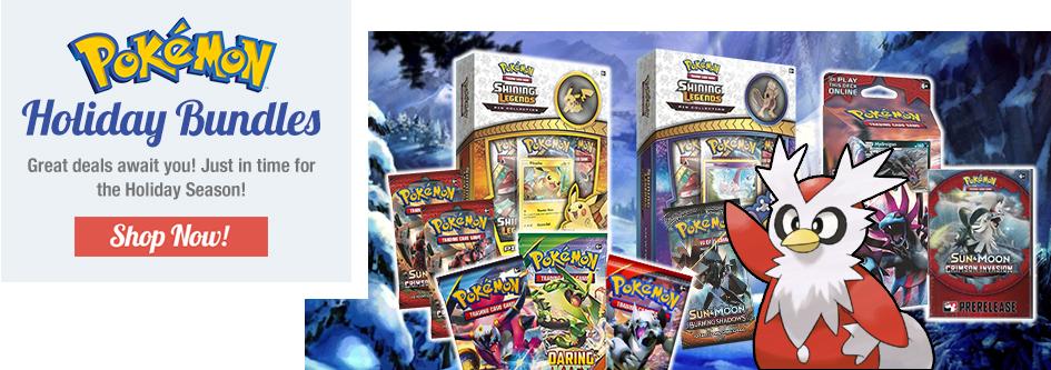 Pokemon Holiday Bundles