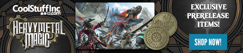 Heavy Metal Magic Ixalan Token and Playmat Bundle