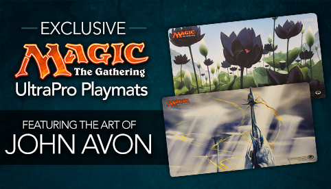 Exclusive John Avon Playmats