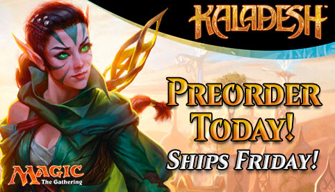 Kaladesh Ships Friday!