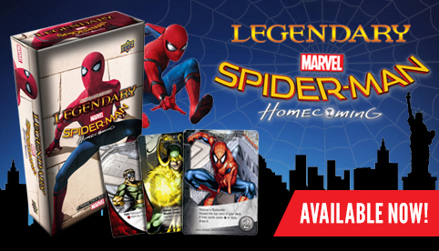 Legendary Deckbuilding Game: Spider-Man Homecoming