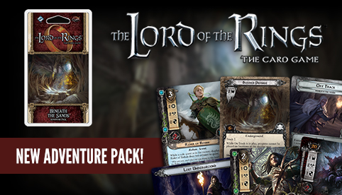 Lord of the Rings LCG: Beneath the Sands Adventure Pack