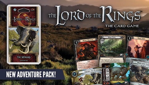 The Lord of the Rings LCG: The Mumakil Adventure Pack