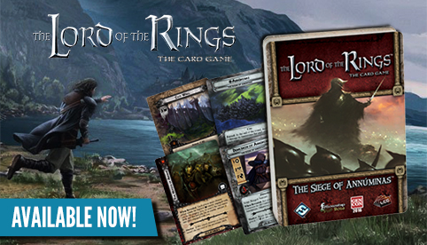 The Lord of the Rings LCG: Siege of Annuminas