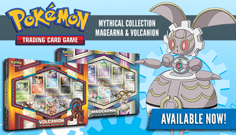 Magearna and Volcanion Mythical Collection