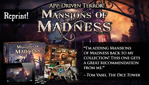 Mansions of Madness 2nd Edition Reprint