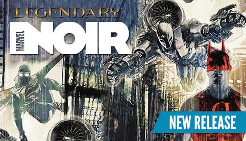 Legendary Marvel Noir Deckbuilding Game