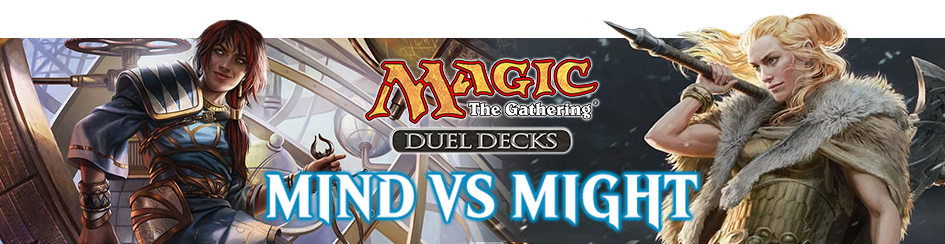 Magic: The Gathering Mind vs Might Duel Deck