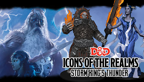 Dungeons and Dragons Icons of the Realms: Storm King's Thunder