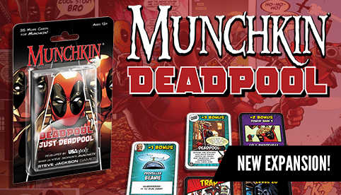 Munchkin Deadpool Expansion