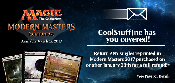 Modern Masters 2017 Edition Promotion
