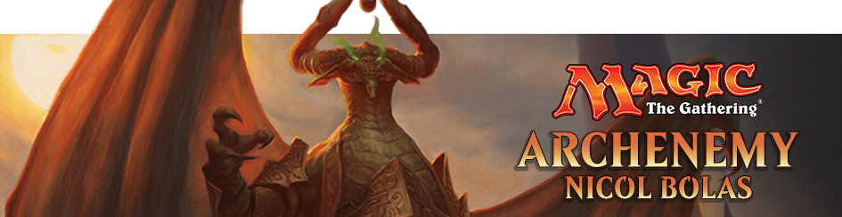 Magic: The Gathering Archenemy Nicol Bolas