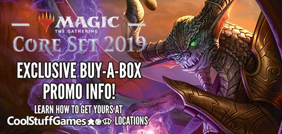 Magic: The Gathering - Core Set 2019 Buy-a-Box Promotion