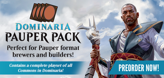 Magic: The Gathering - Dominaria Pauper Pack