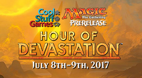 Magic: The Gathering Hour of Devastation Prerelease Event
