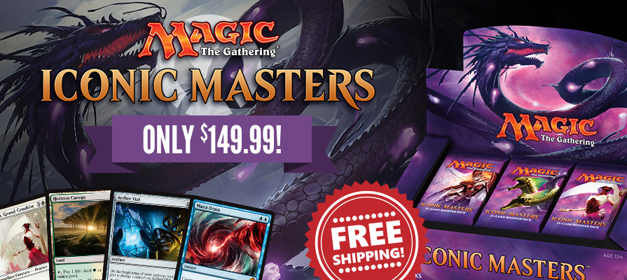Iconic Masters Sale