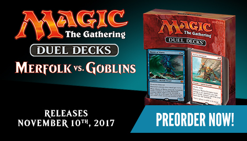 Magic: The Gathering - Merfolk vs Goblins