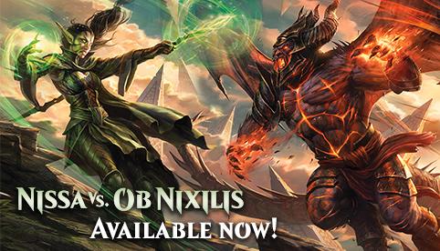 Nissa vs Ob Nixilis