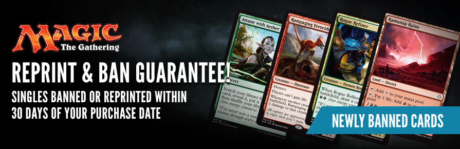 Reprint and Ban Guarantee