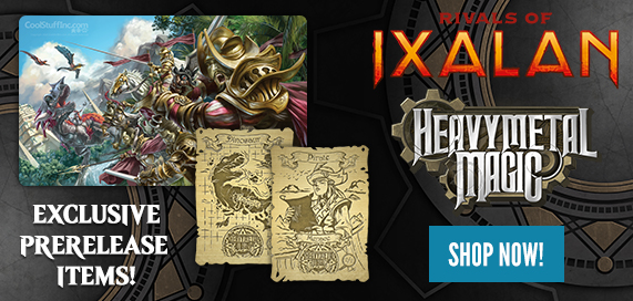 Rivals of Ixalan - Heavy Metal Magic Prerelease Items