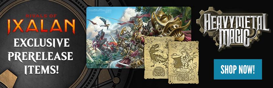 Rivals of Ixalan - Heavy Metal Magic Prerelease Items
