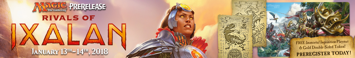 Rivals of Ixalan - Prerelease Event