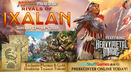 Rivals of Ixalan - Prerelease Event