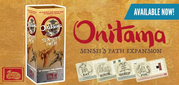 Onitama: Sensei's Path Edition