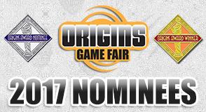 Origins 2017 Nominees