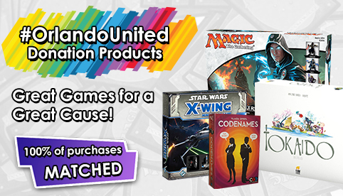 #OrlandoUnited Donation Products - All Proceeds Matched by CoolStuffInc.com