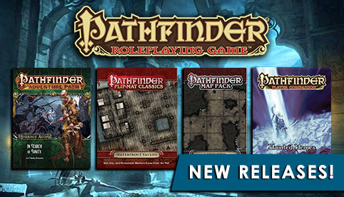Pathfinder Releases - September 2016