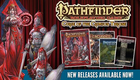Pathfinder Releases - October 2016