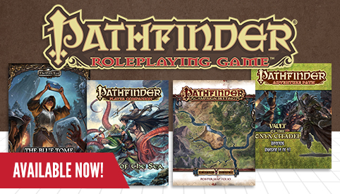 Pathfinder Releases, July 2017