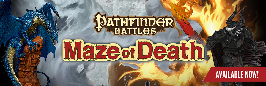 Pathfinder Battles - Maze of Death