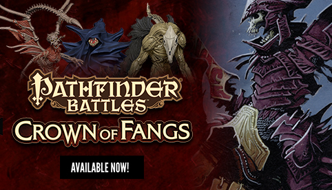 Pathfinder Battles: Crown of Fangs