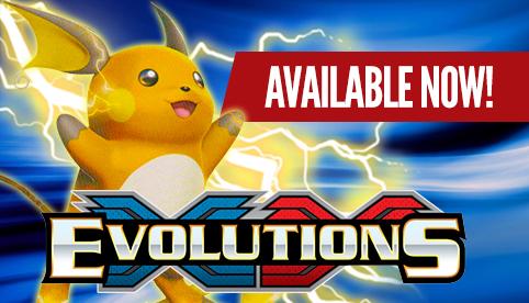 XY Evolutions Preorder