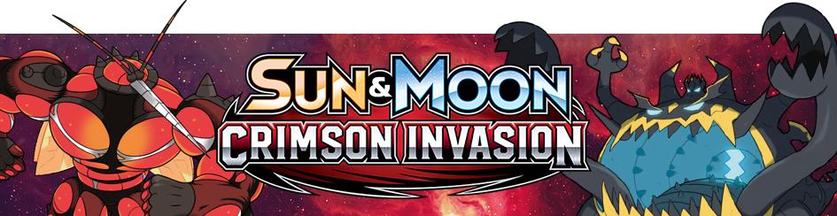 Pokemon - Sun & Moon: Crimson Invasion