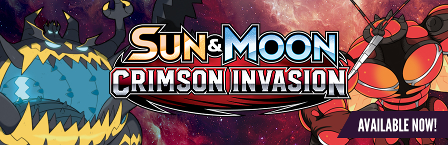 Pokemon Sun and Moon - Crimson Invasion