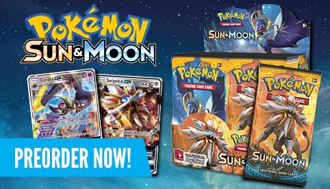 Pokemon Sun and Moon Preorders