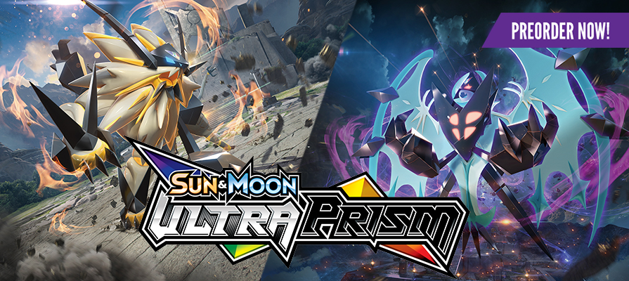 Pokemon Sun and Moon - Ultra Prism