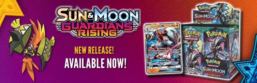Pokemon Sun and Moon Guardians Rising