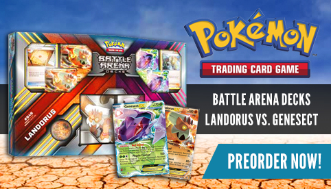 Battle Arena Decks: Landorus vs. Genesect