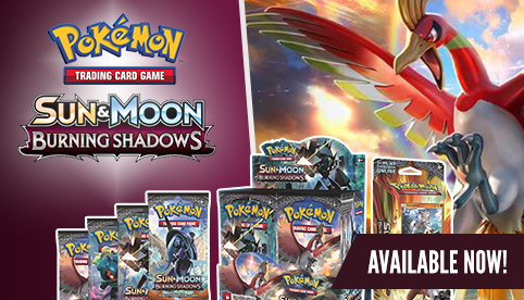 Pokemon Sun and Moon - Burning Shadows