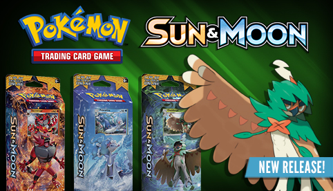Sun and Moon Theme Decks