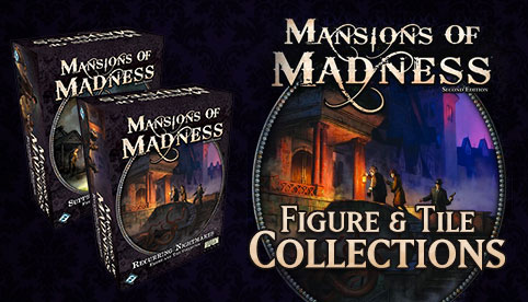 Mansions of Madness Figure and Tiles Collections